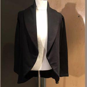 New James Perse Draped Open Cardigan Sweatshirt